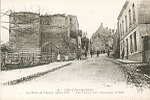 4-COUCY-LE-Château - La Porte de Chauny (début 1915).- The Chauny Gate (beginning of 1915) ND Phot
