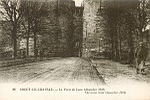 23 COUCY-LE-Château.- La Porte de Laon (décembre 1916) The Laon Gate (december 1916)